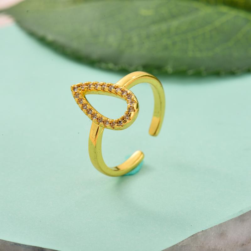 Anillos de Oro Laminado para Mujer -BRRGG155-33723