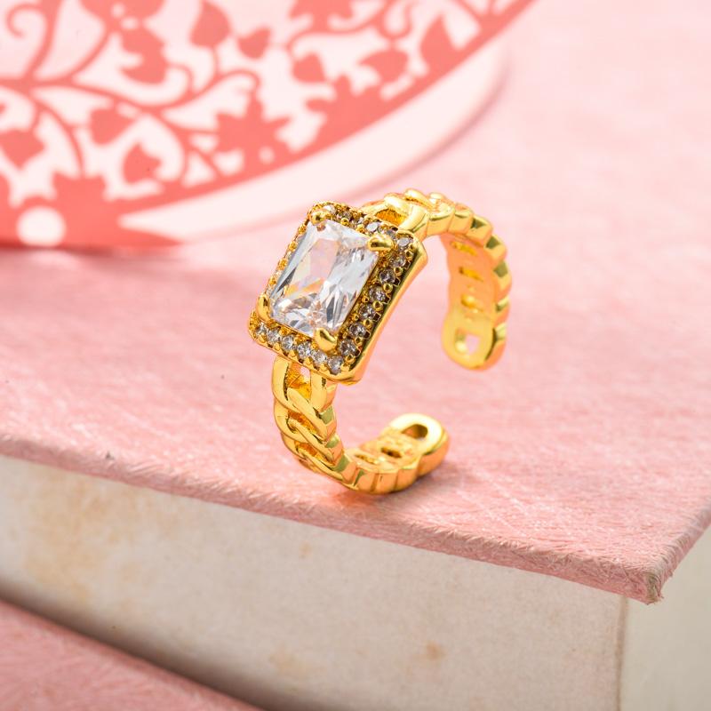 Anillos de Oro Laminado para Mujer -BRRGG155-33629