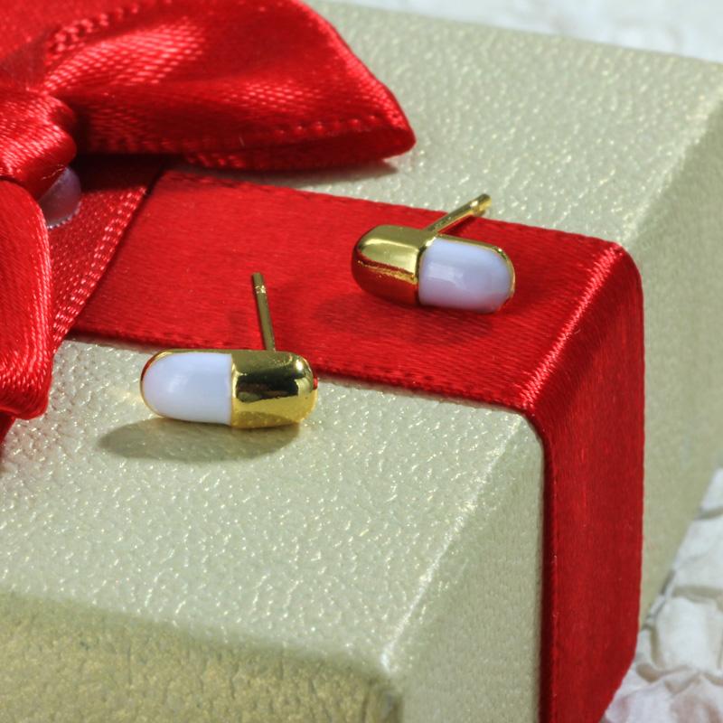 Aretes de Oro Laminado para Damas Mayoreo -BREGG198-34099