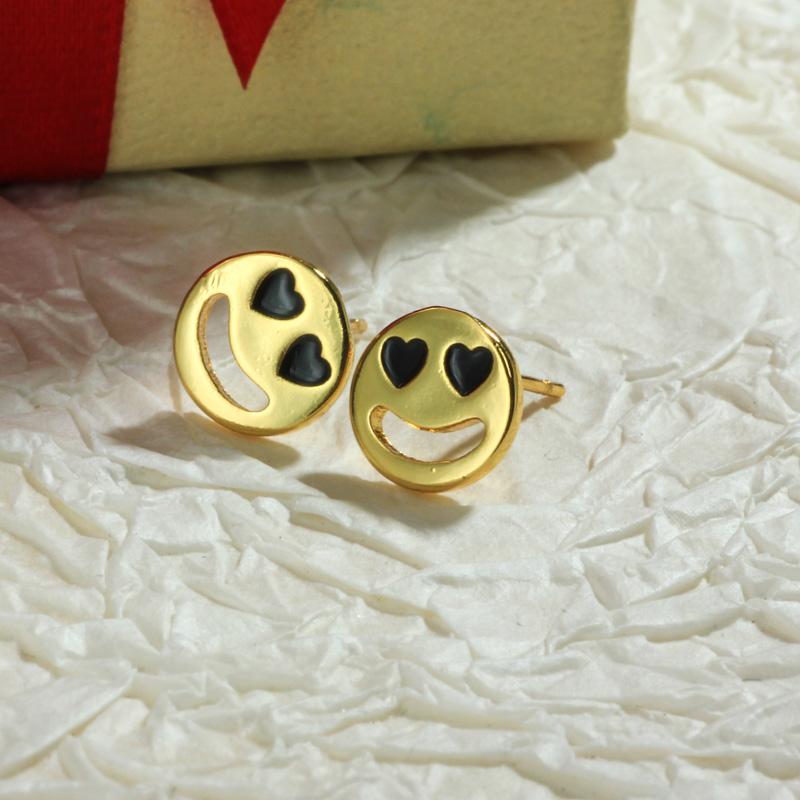 Aretes de Oro Laminado para Damas Mayoreo -BREGG198-34105