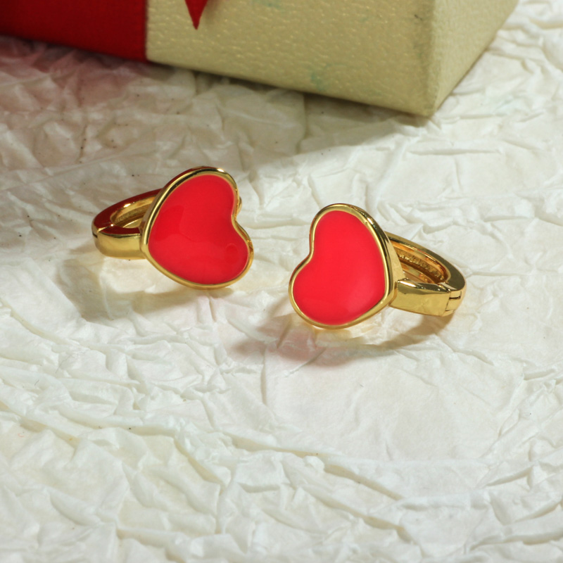 Aretes de Oro Laminado para Damas Mayoreo -BREGG198-34094