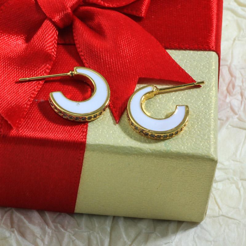 Aretes de Oro Laminado para Damas Mayoreo -BREGG198-34087