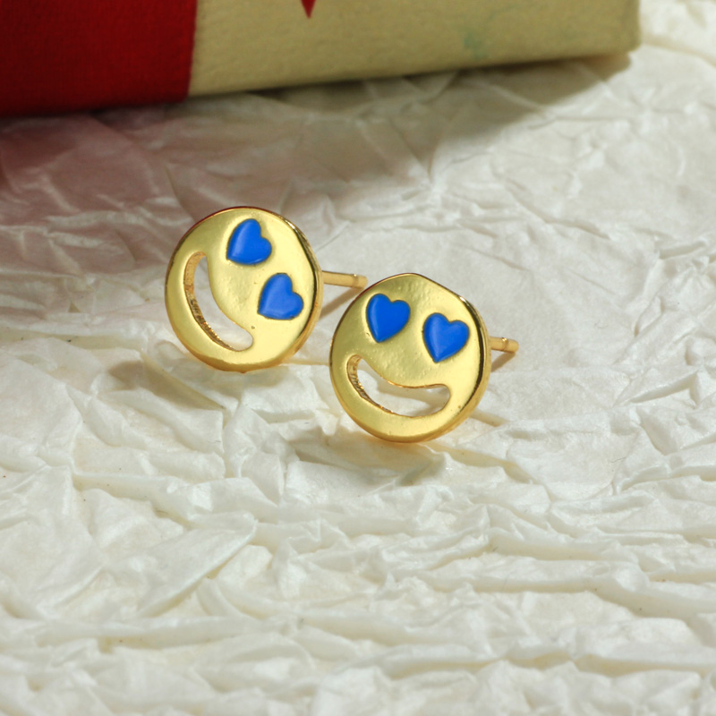 Aretes de Oro Laminado para Damas Mayoreo -BREGG198-34106