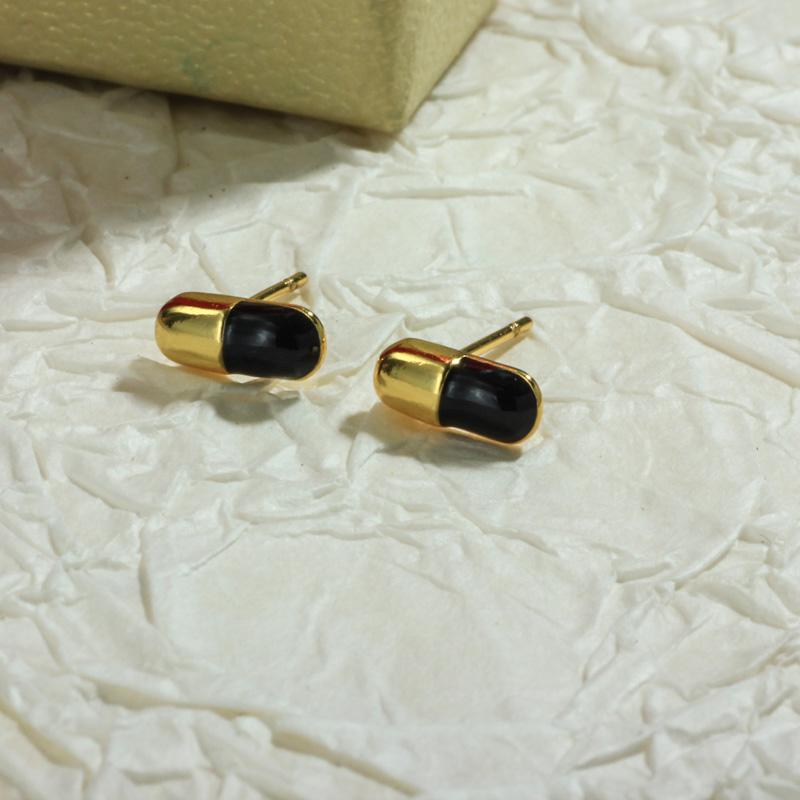 Aretes de Oro Laminado para Damas Mayoreo -BREGG198-34097