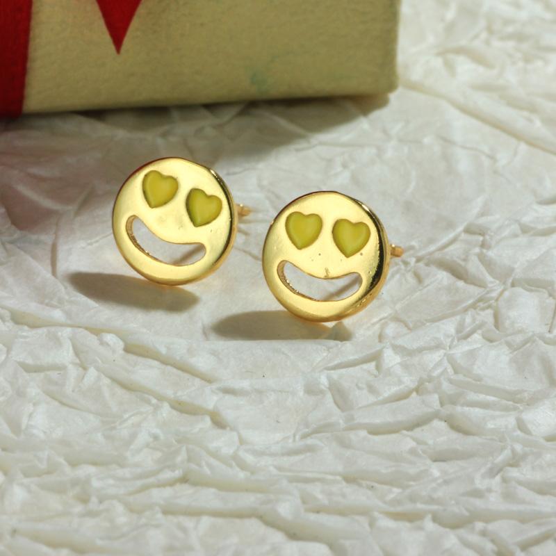 Aretes de Oro Laminado para Damas Mayoreo -BREGG198-34104