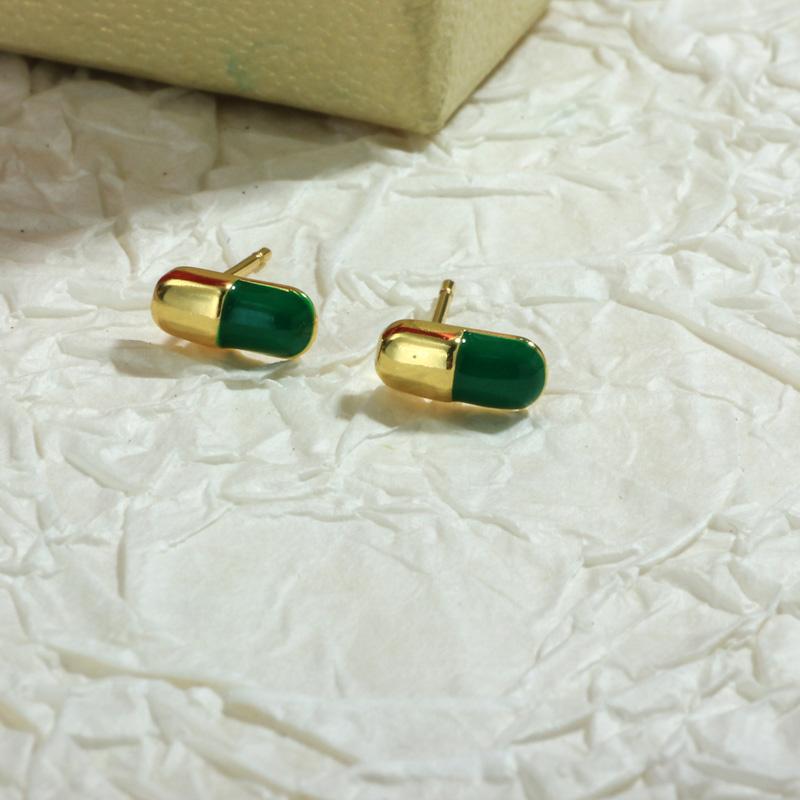 Aretes de Oro Laminado para Damas Mayoreo -BREGG198-34096
