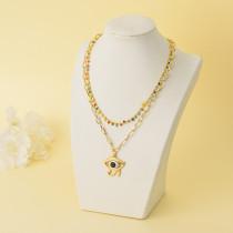 Collares de Oro Laminado para Damas Mayoreo -BRNEG142-34331