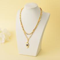 Collares de Oro Laminado para Damas Mayoreo -BRNEG142-34332