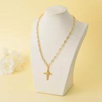 Collares de Oro Laminado para Damas Mayoreo -BRNEG142-34335