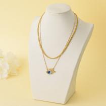 Collares de Oro Laminado para Damas Mayoreo -BRNEG142-34334