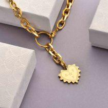 Collares de Acero Inoxidable para Mujer al por Mayor -SSNEG142-33758