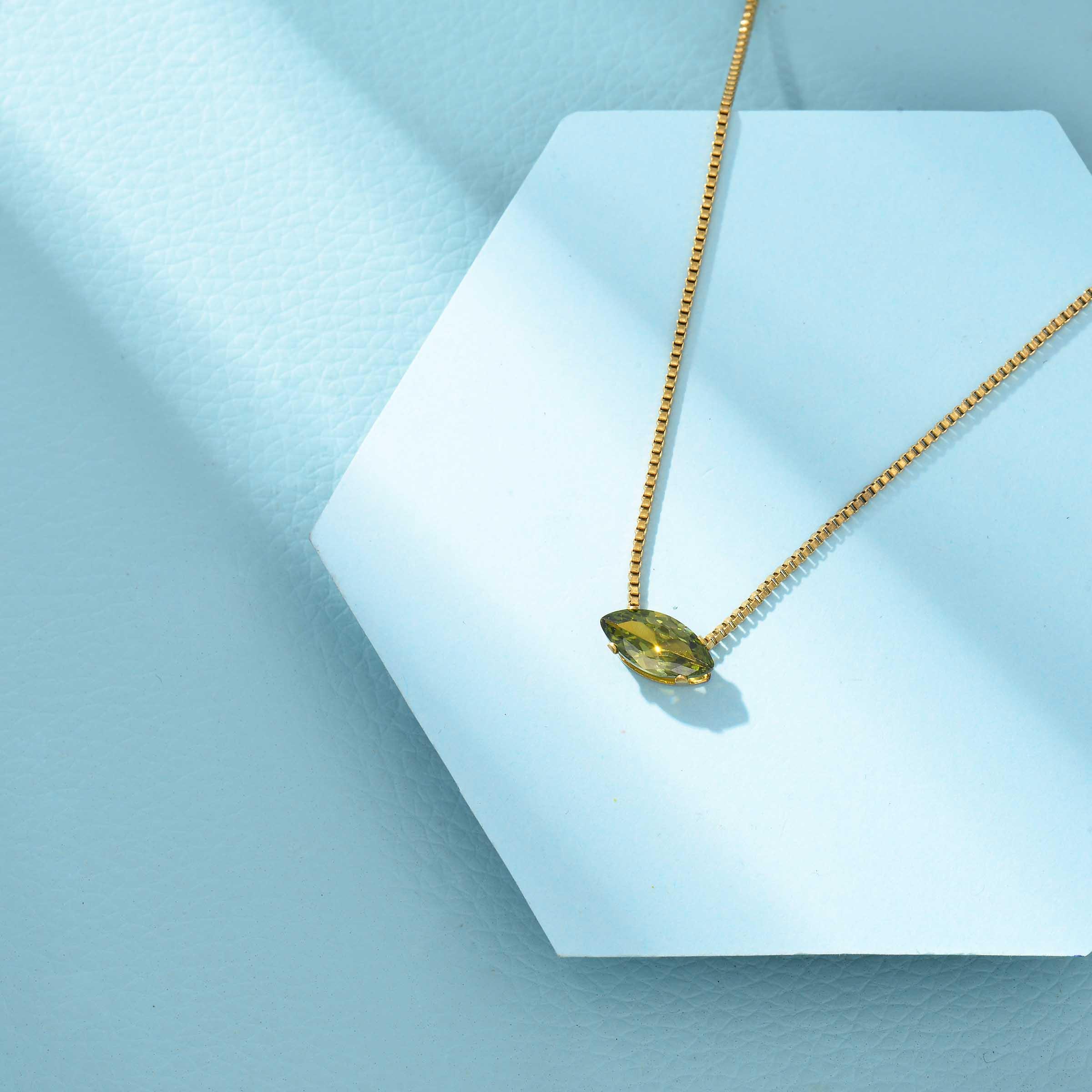 Collares de Acero Inoxidable para Mujer al por Mayor -SSNEG143-33859