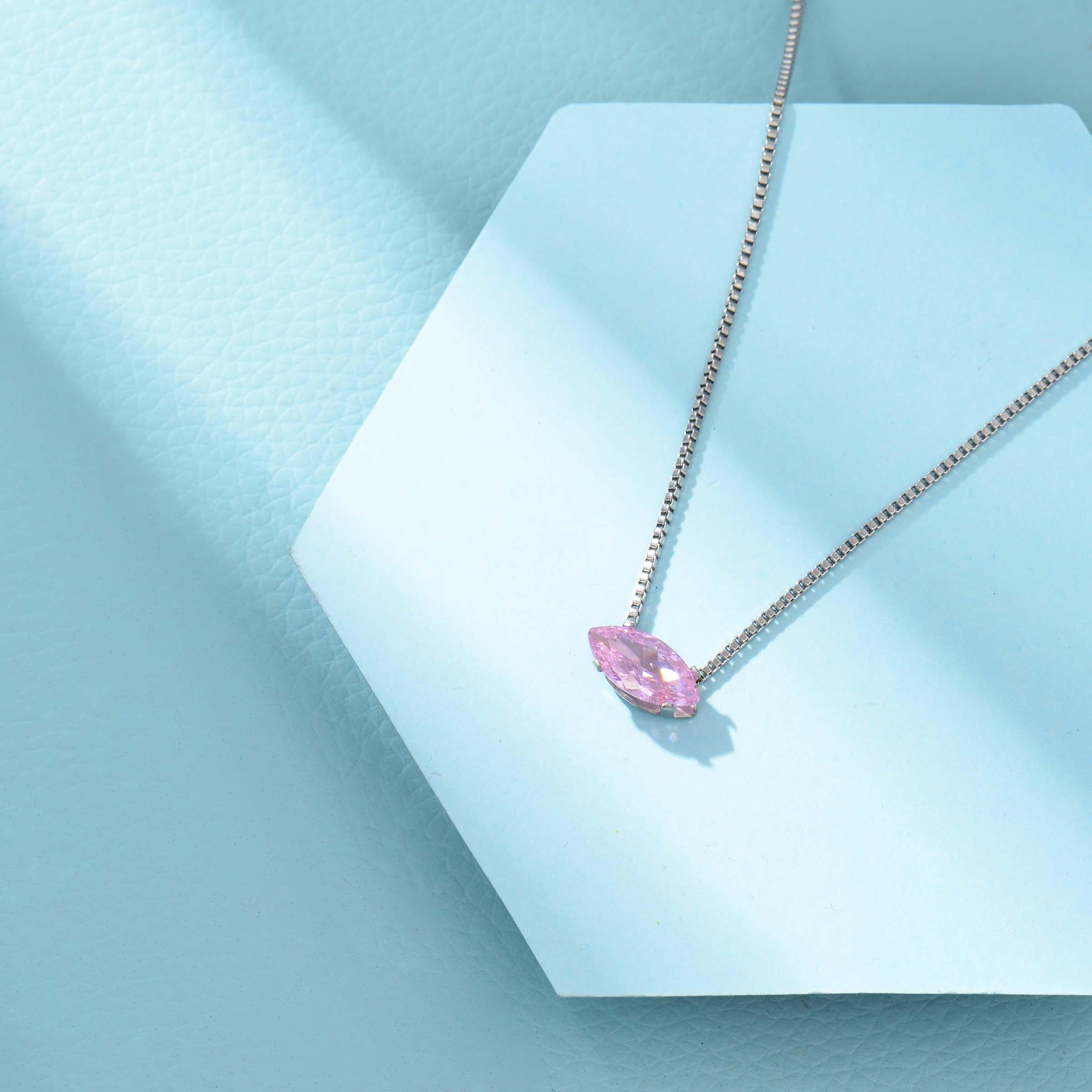 Collares de Acero Inoxidable para Mujer al por Mayor -SSNEG143-33857