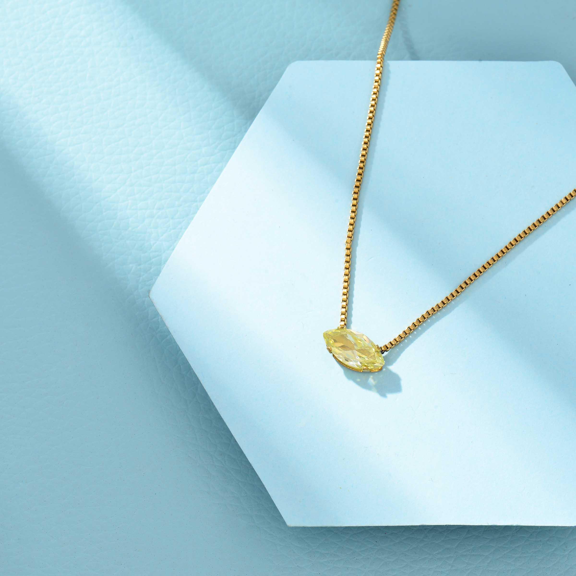 Collares de Acero Inoxidable para Mujer al por Mayor -SSNEG143-33860