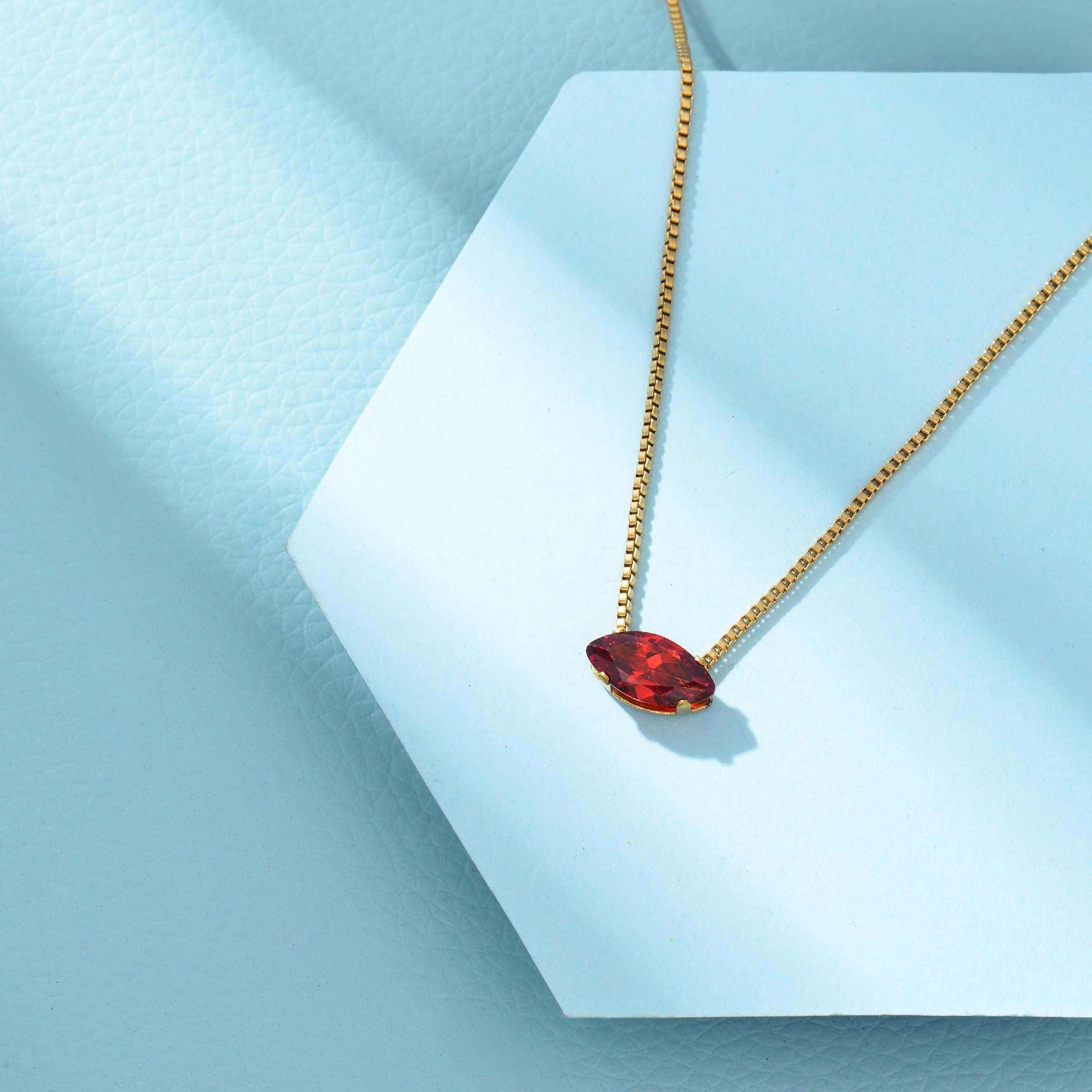 Collares de Acero Inoxidable para Mujer al por Mayor -SSNEG143-33858