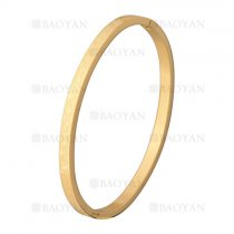 pulsera simple dorado en acero inoxidable -SSBTG1225526