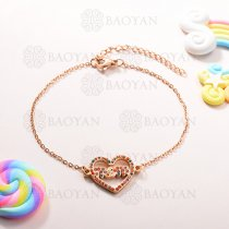 Pulsera de Charms Multi Color en Acero Inoxidable -SSBTG143-10936