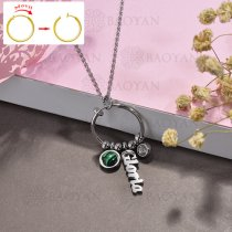 collar de DIY en acero inoxidable -SSNEG143-15520