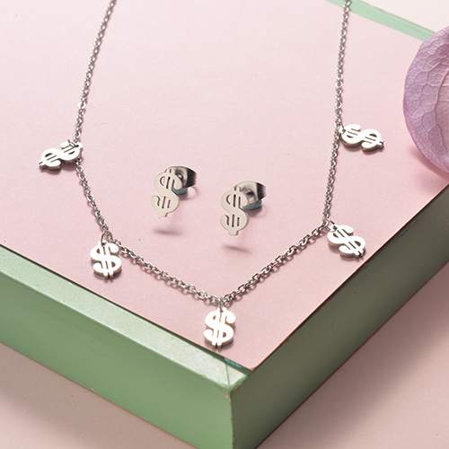 Stainless Steel Jewelry Sets -SSCSG126-20290Q