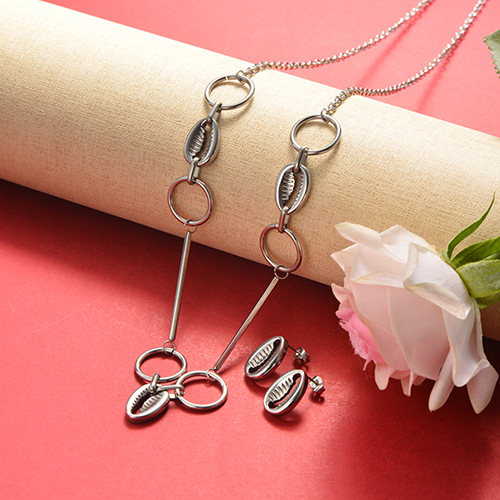 Stainless Steel Jewelry Sets -SSCSG126-20361YE