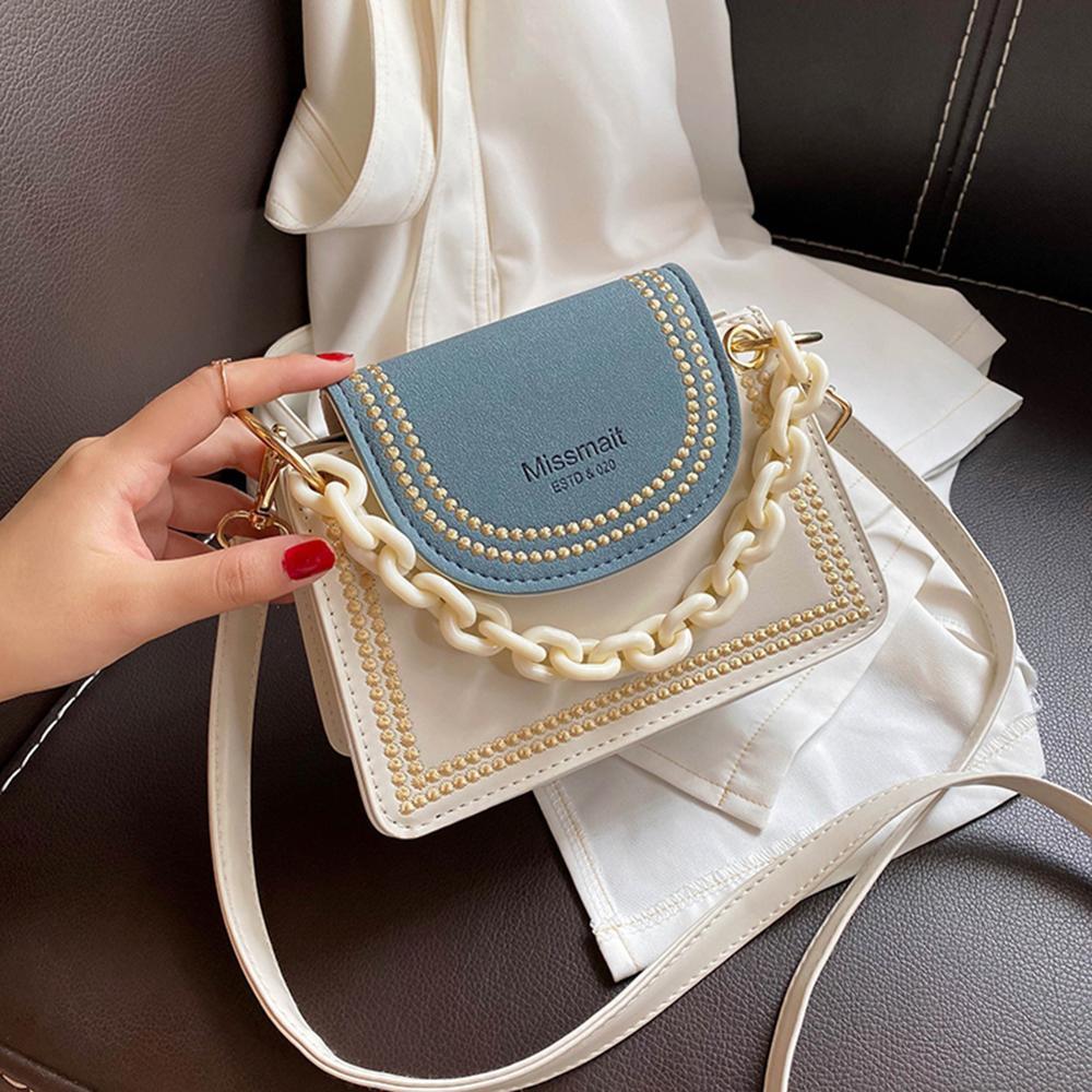 Details about  /Women Solid Handbags Fashion Lattice Pattern PU Totes Elegant Shoulder Bags
