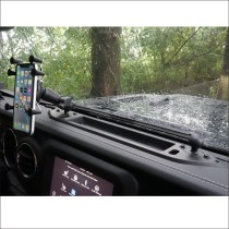 Voswitch Phone Mount Pack for Jeep Wrangler JL JLU 2018 to Present and Gladiator 2020