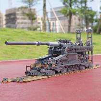 German 80cm K[E] Railway Gun  Dora