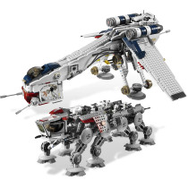 Republic Dropship with AT-OT Walker