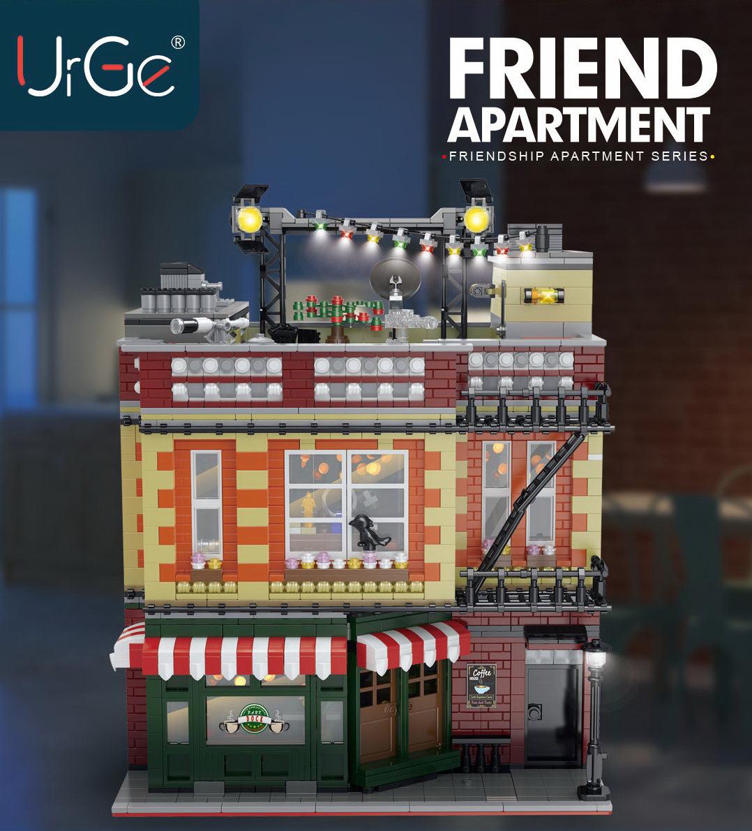 Central Perk Big Bang Theory modular