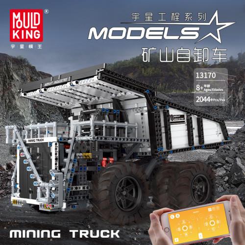 Custom RC Mining Dump Truck Muldenkipper