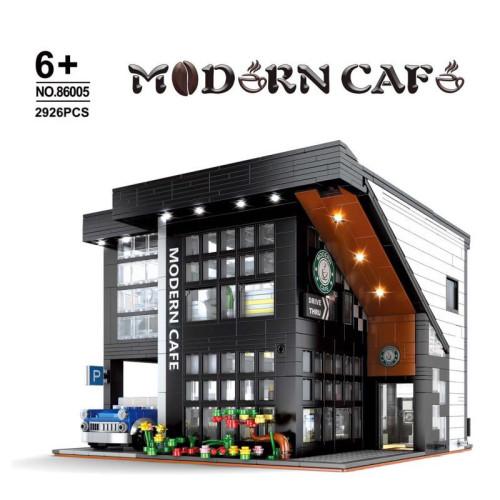 Modern Cafe Modular #About 9.18th