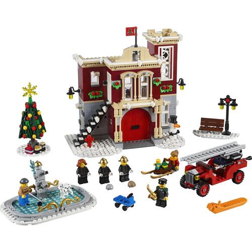 Winter Village Fire Station