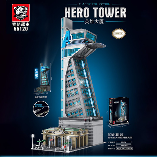 Avengers Tower     About Next Week