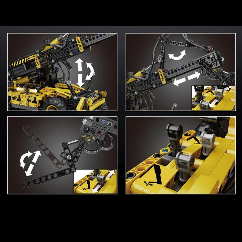 Pneumatic Telescopic Forklift