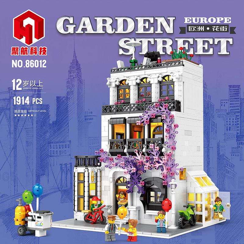 Europe Garden Street
