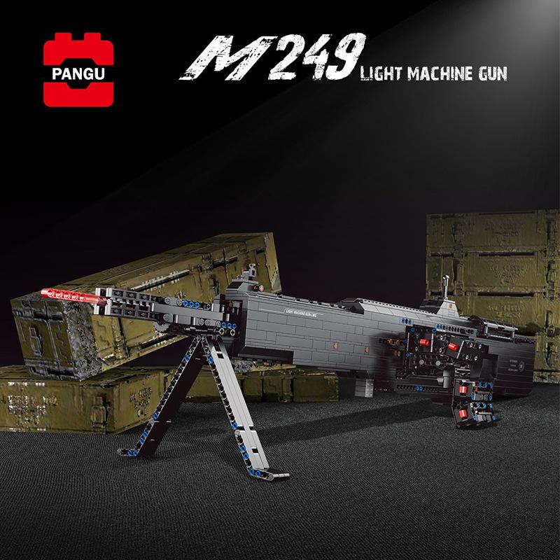 M249 Light Machine Gun (With PF)