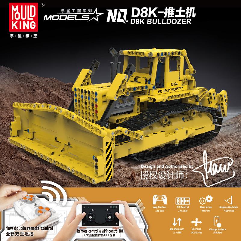 Bulldozer RC Caterpillar D8K