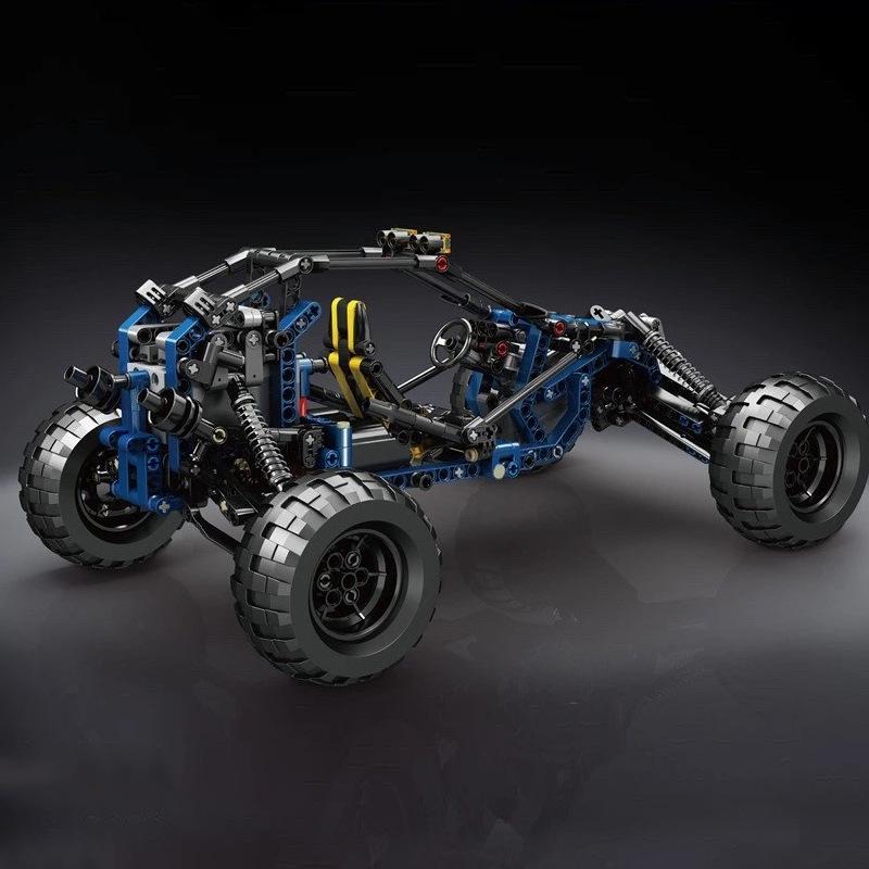 Blue Lightning Buggy
