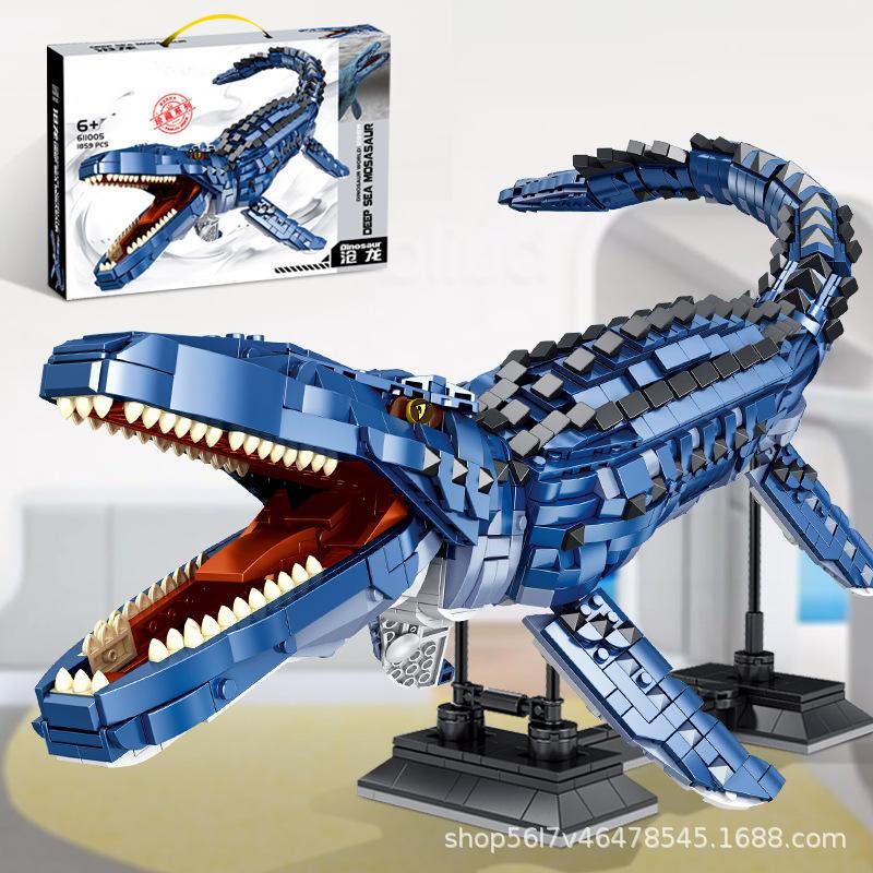 Deep Sea Mosasaurus