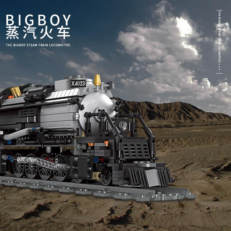 The Bigboy Steam Locomotive