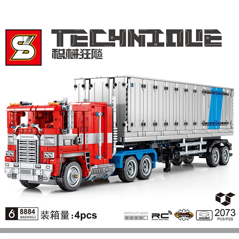 Optimus Prime Trailer Truck