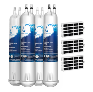 GlacialPure 4Pack Filter 3, 4396841, EDR3RXD1, 46-9083 with Air1 filter