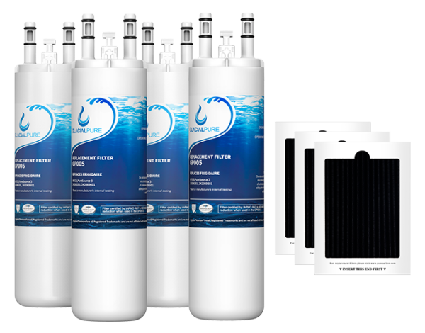 GlacialPure 4Pack AP4567491, WF3CB, PureSource3 with Air filter