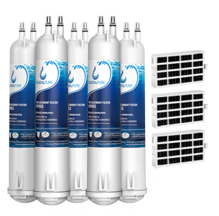 GlacialPure 5Pack Filter 3, 4396841, EDR3RXD1, 46-9083 with Air1 filter