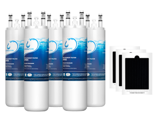 GlacialPure 5Pack AP4567491, WF3CB, PureSource3 with Air filter