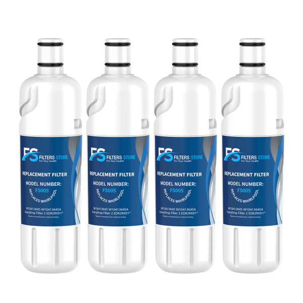 FS Edr2rxd1, w10413645a Water Filter, Filter 2 (4 Pack)