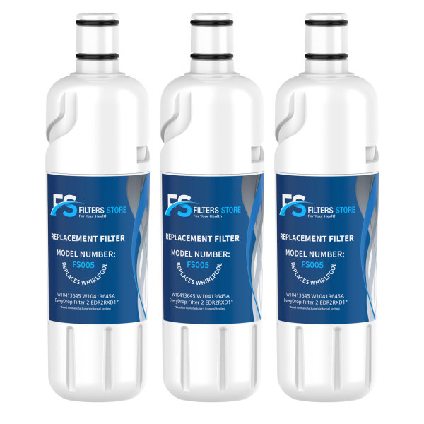 FS Edr2rxd1, w10413645a Water Filter, Filter 2 (3 Pack)
