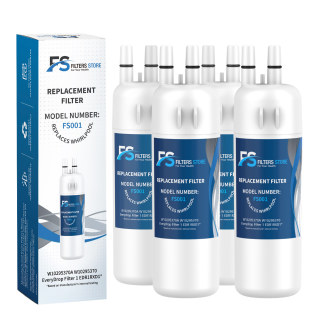 W10295370A FS 4pk EDR1RXD1 fridge filter for filter 1