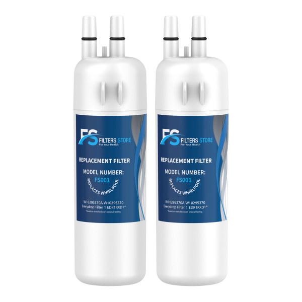 FS 2pk EDR1RXD1 W10295370A fridge filter for filter 1
