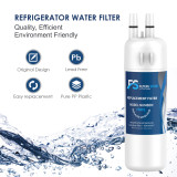 FS 3pk EDR1RXD1 W10295370A fridge filter for filter 1